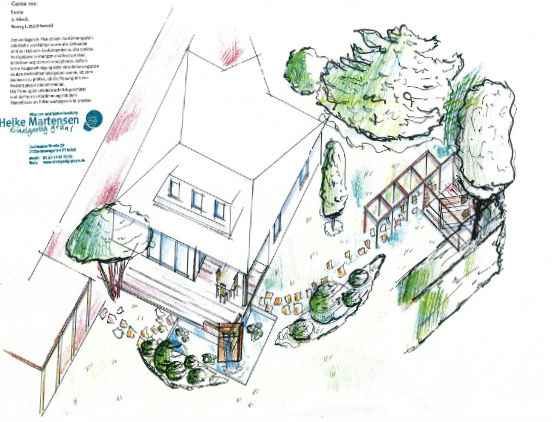 Privatgarten Lindhorst Visuelle Gartenplanung, Heike Martensen, Gartengestaltung
