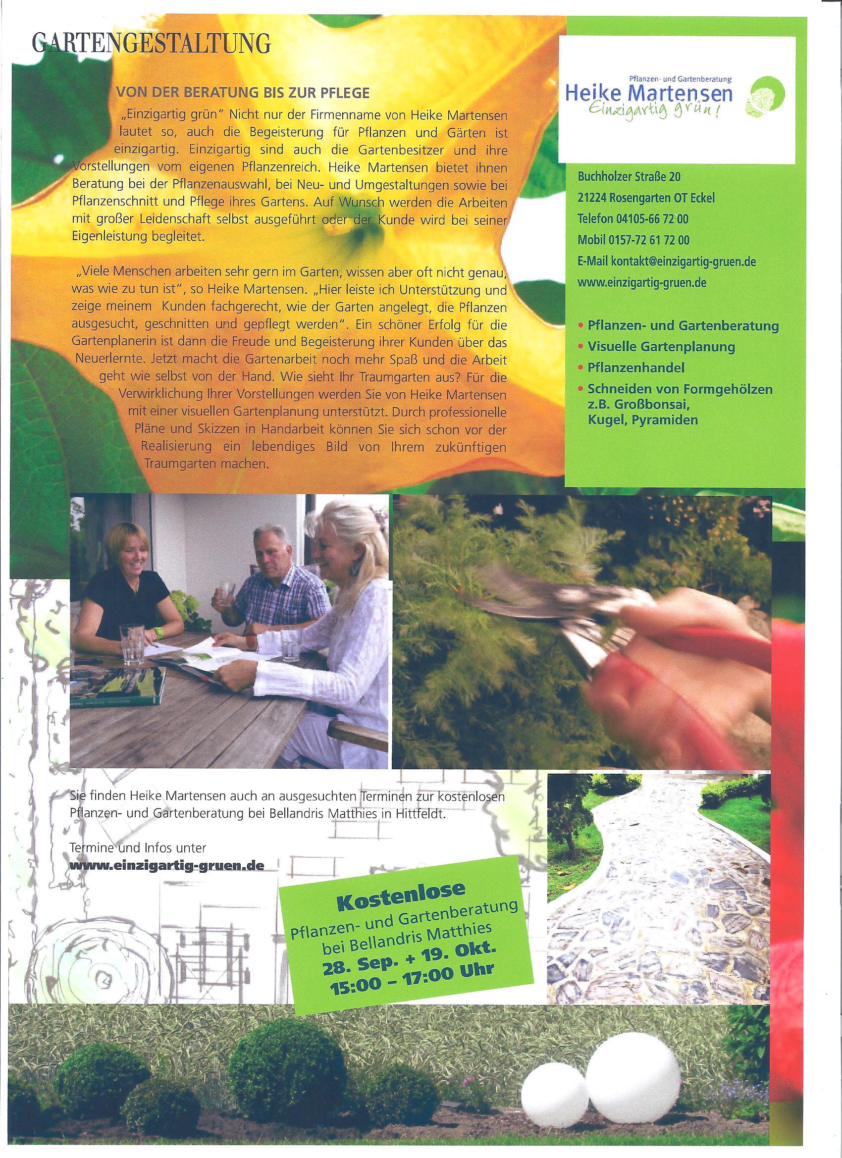 Neu Ausgabe Herbst/ Winter 2012 Die Haus und Garten Welt